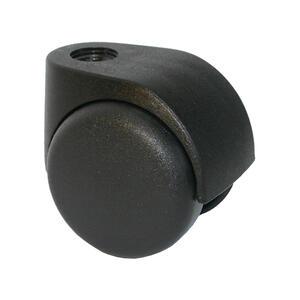 800396 300x300%23 0751 560 supporto nylon nero ruota nylon nera libera