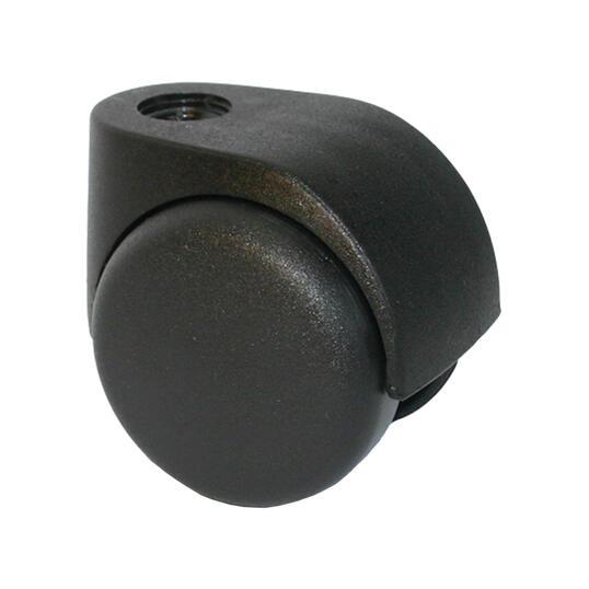 800396 538x538 0751 560 supporto nylon nero ruota nylon nera libera